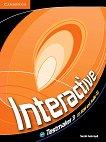 Interactive: Учебна система по английски език - Ниво B1-B2 : CD  с тестове - Sarah Ackroyd -