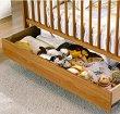 Чекмедже за легло-кошара - CP949 - Цвят мед -