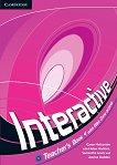 Interactive - ниво 4 (B2): Книга за учителя по английски език - Garan Holcombe, Helen Hadkins, Samantha Lewis, Joanna Budden -