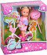 """Еви с колело - Кукла от серията """"Steffi Love"""" -"""