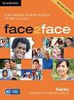 face2face - Starter (A1): CD-ROM с тестове + CD с аудиоматериали : Учебна система по английски език - Second Edition - Chris Redston, Gillie Cunningham, Sarah Ackroyd -