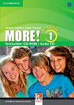 MORE! - Ниво 1 (A1): CD с тестове : Учебна система по английски език - Second Edition - Herbert Puchta, Claire Thacker -