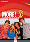 MORE! - Ниво 2 (A2): CD с тестове : Учебна система по английски език - Second Edition - Herbert Puchta, Rachel Finnie -