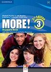 MORE! - Ниво 3 (A2 - B1): Учебник Учебна система по английски език - Second Edition -