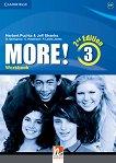 MORE! - Ниво 3 (A2 - B1): Учебна тетрадка Учебна система по английски език - Second Edition -