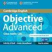 Objective - Advanced (C1): 2 CDs с аудиоматериали Учебен курс по английски език - Fourth edition -