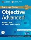 Objective - Advanced (C1): Книга за учителя + CD Учебен курс по английски език - Fourth Edition -