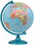 Светещ глобус: Нощ и ден - диаметър 25 cm - карта