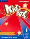 Kid's Box - Ниво 1: Учебна тетрадка Учебна система по английски език - Second Edition -