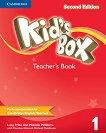 Kid's Box - Ниво 1: Книга за учителя Учебна система по английски език - Second Edition - учебник