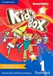 Kid's Box - Ниво 1: Флашкарти : Учебна система по английски език - Second Edition - Caroline Nixon, Michael Tomlinson -