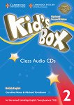 Kid's Box - ниво 2: 4 CD с аудиоматериали : Updated Second Edition - Caroline Nixon, Michael Tomlinson -
