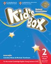 Kid's Box - ниво 2: Учебна тетрадка по английски език + онлайн материали : Updated Second Edition - Caroline Nixon, Michael Tomlinson -