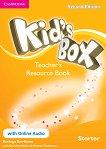 Kid's Box - Ниво Starter: Kнига за учителя с допълнителни материали Учебна система по английски език - Second Edition - помагало