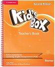 Kid's Box - Ниво Starter: Kнига за учителя Учебна система по английски език - Second Edition -