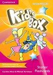 Kid's Box - Ниво Starter: Флашкарти : Учебна система по английски език - Second Edition - Caroline Nixon, Michael Tomlinson -