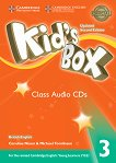 Kid's Box - ниво 3: 3 CD с аудиоматериали Updated Second Edition - книга за учителя