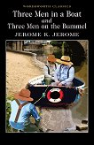 Three Men in a Boat and Three Men on the Bummel - Jerome K. Jerome - книга