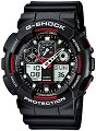 "Часовник Casio - G-Shock GA-100-1A4ER - От серията ""G-Shock"" -"