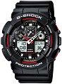 """Часовник Casio - G-Shock GA-100-1A4ER - От серията """"G-Shock"""" -"""