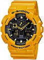 """Часовник Casio - G-Shock GA-100A-9AER - От серията """"G-Shock"""" -"""