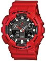 """Часовник Casio - G-Shock  GA-100B-4AER - От серията """"G-Shock"""""""