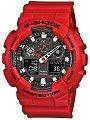 """Часовник Casio - G-Shock  GA-100B-4AER - От серията """"G-Shock"""" -"""