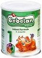 Мляко за кърмачета: Bebelan Lacta 1 - Опаковка от 400 g за бебета от 0 до 6 месеца -