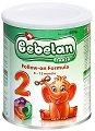 Преходно мляко: Bebelan Lacta 2 - Опаковка от 400 g за бебета от 6 до 12 месеца -