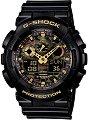 """Часовник Casio - G-Shock GA-100CF-1A9ER - От серията """"G-Shock"""" -"""