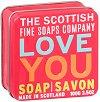Scottish Fine Soaps Love You - Сапун в метална кутия -