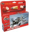 Военен самолет - Focke-Wulf Fw190A-8 - Сглобяем модел - комплект с лепило и бои -