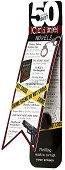 """Разделител за книга - Crime Novels - От серията """"50 of the best"""" - продукт"""