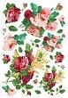 """Декупажна хартия - Червени рози 155 - Серия """"Digital Collection Mulberry"""" -"""