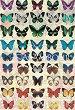 """Декупажна хартия - Пеперуди 171 - Серия """"Digital Collection Mulberry"""" -"""