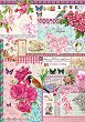 """Декупажна хартия - Парфюм от роза 225 - Серия """"Digital Collection Mulberry"""" -"""