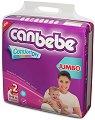 Canbebe Comfort Dry - Mini - Пелени за еднократна употреба за бебета с тегло от 3 до 6 kg -