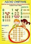 Лесно смятане: Помагало по аритметика за предучилищна възраст. Табло - Неда Милева -