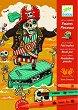 Оцветявай с флумастери - Страшни пирати - Творчески комплект за рисуване -