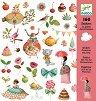 Комплект стикери за декорация - Чаеното парти на принцесите