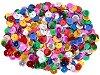 Декоративни фигурки - Разноцветни пайети - Опаковка от 15 g -