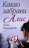 Какво забрави Алис - Лиан Мориарти - книга
