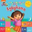 Дора Изследователката: Азбуката + стикери - детска книга