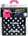 Покрития за дръжка на детска количка - Single Bar: Polka Dot - Комплект от 2 броя -