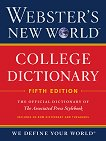 Webster's New World College Dictionary + CD : The Official Dictionary of the Associated Press Stylebook -