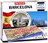 """Барселона, Испания - 4D пъзел от серията """"Cityscape - History Over Time"""" -"""