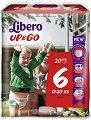 Libero - Up & Go 6 - Гащички за еднократна употреба за бебета с тегло от 13 до 20 kg -