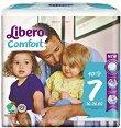 Libero - Comfort 7 - Пелени за еднократна употреба за бебета с тегло от 12 до 22 kg -