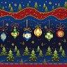 Салфетки за декупаж - Коледни играчки - Пакет от 20 броя -
