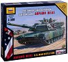 Американски основен боен танк - Abrams M1A1 - Сглобяем модел -